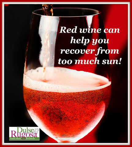 Red wine can help your skin look lovely- but remember moderation is the key.