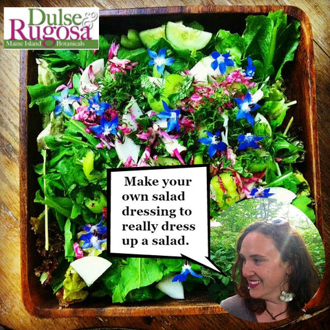 Making your own salad dressing is easy and helps you reduce your plastic consumption.