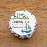 Cruising Bar is a do everything bar of soap that is packeged plastic free