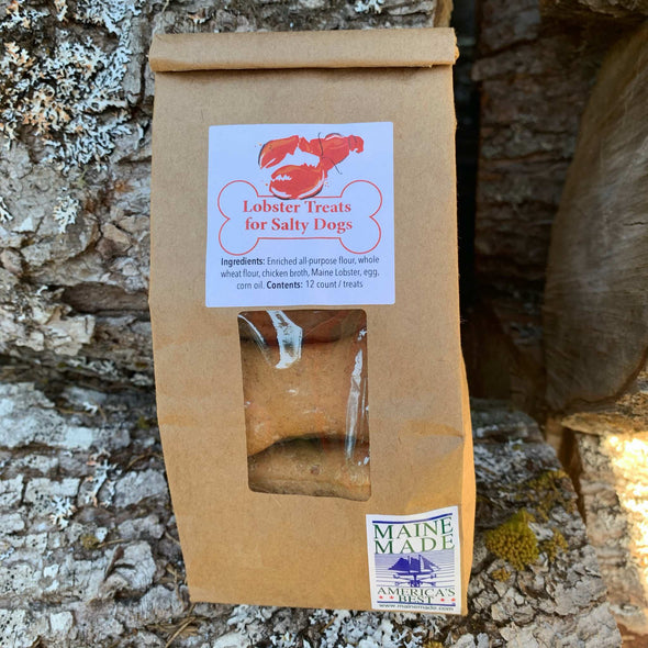 Lobster Dog Treats for Salty Dogs