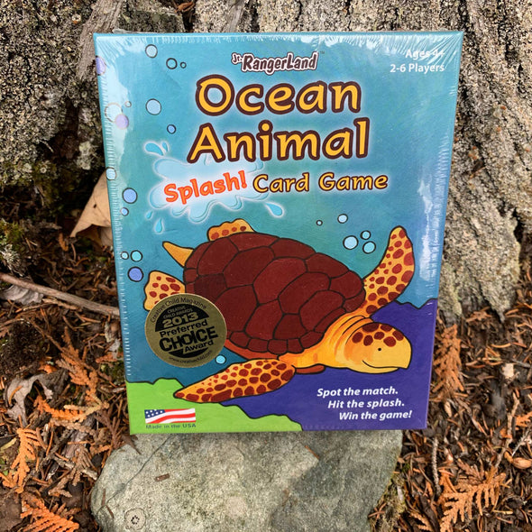 Ocean Animals Card Game