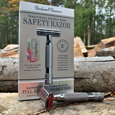Plastic Free Adjustable Razor