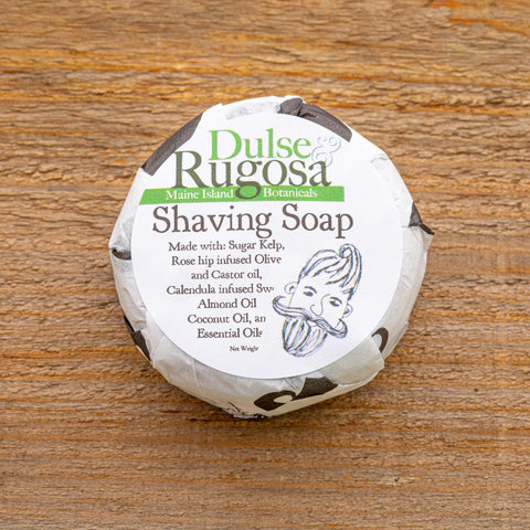 Our Shaving Soap is a mild blend of nourishing oils perfect for use with any type of razor.