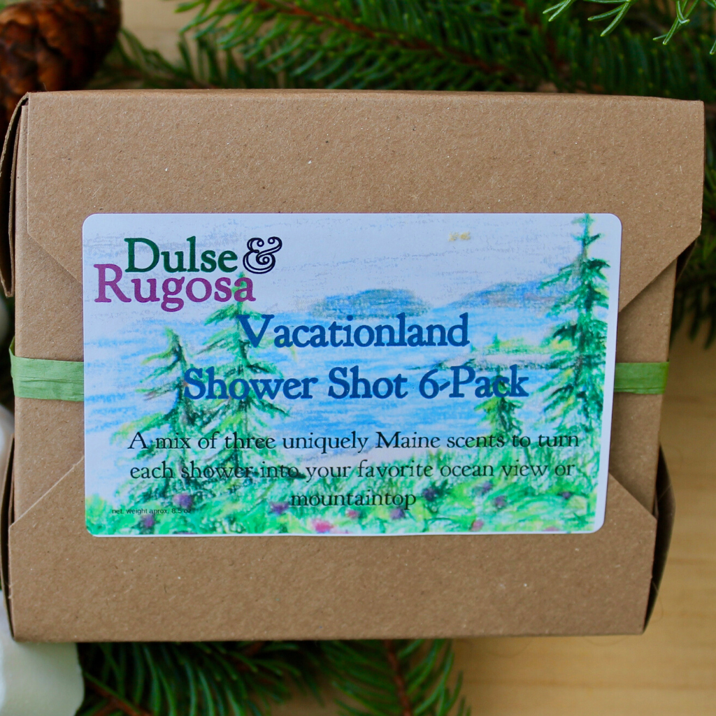 Vacationland Shower Shot Curated Box