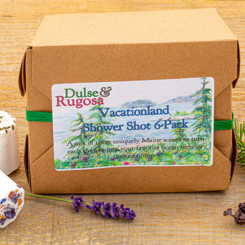 Vactionland Curated Shower Shot Box