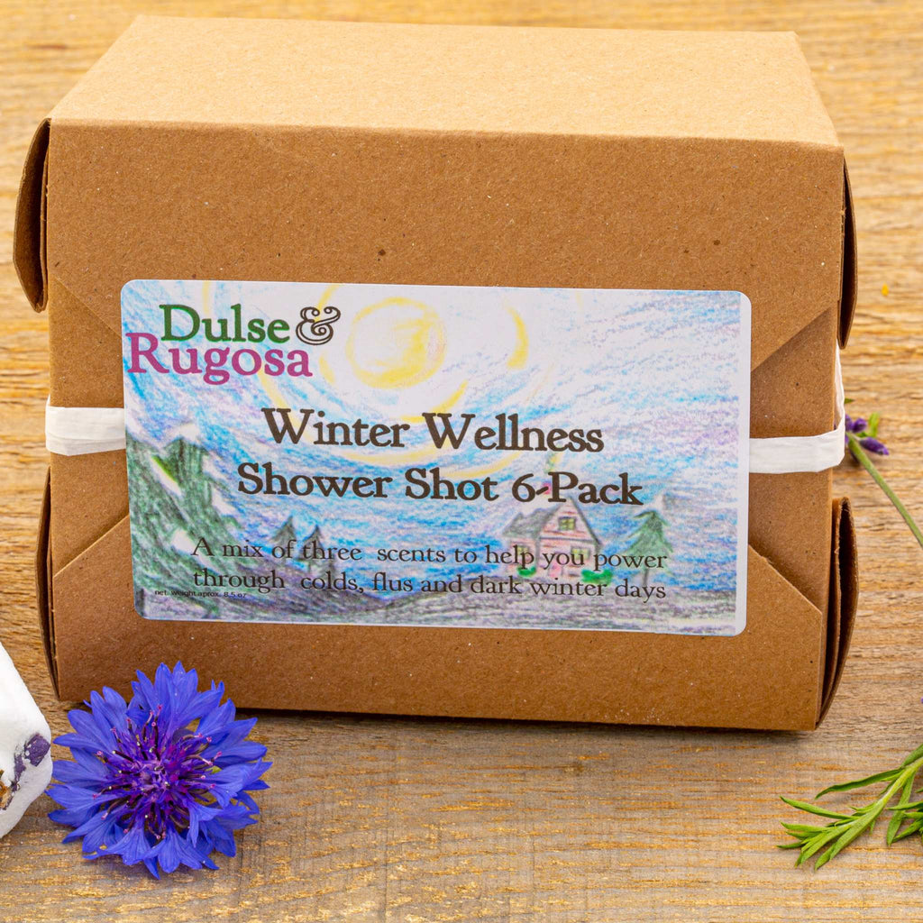 Winter Wellness Curated Shower Shot Box
