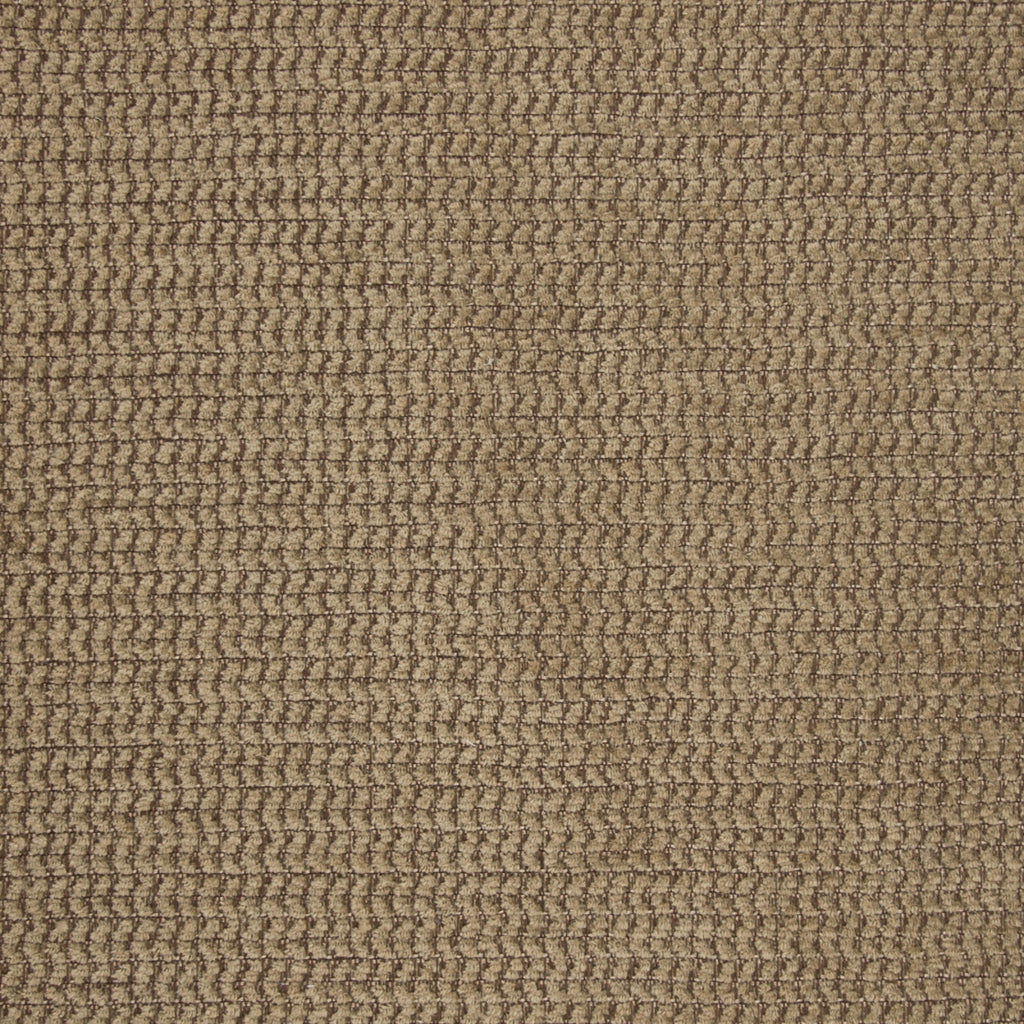 Praline Brown Solid Chenille Texture Upholstery Fabric
