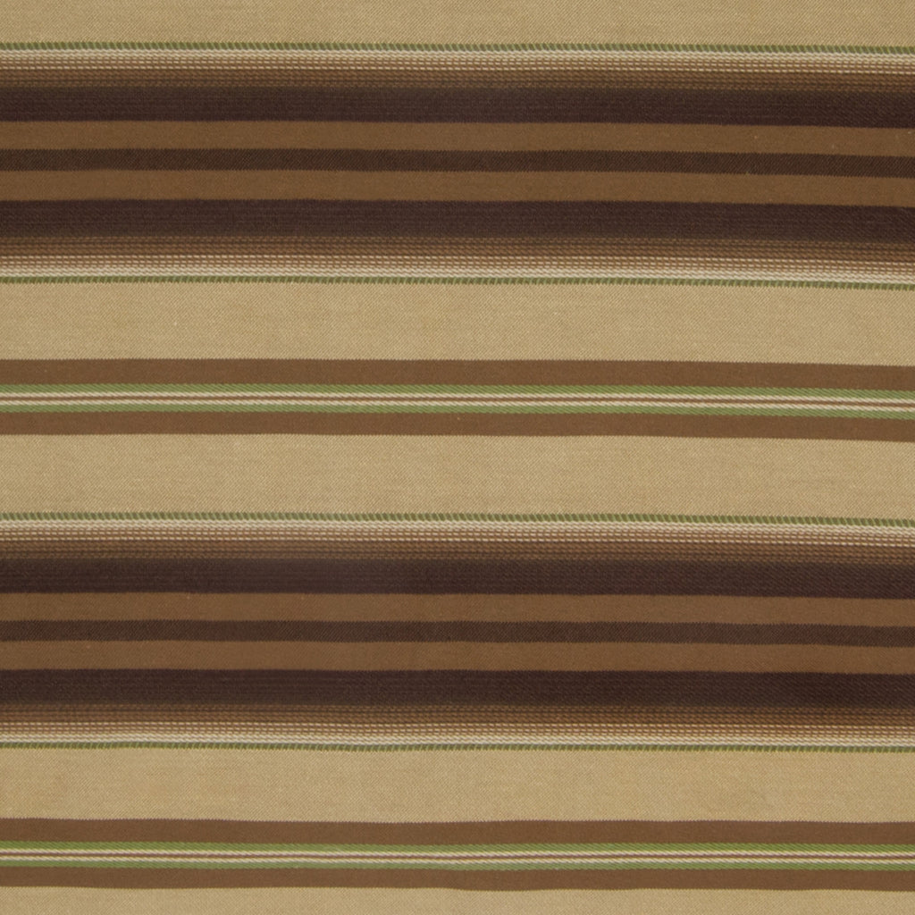 Cocoa Brown Stripe Woven Upholstery Fabric