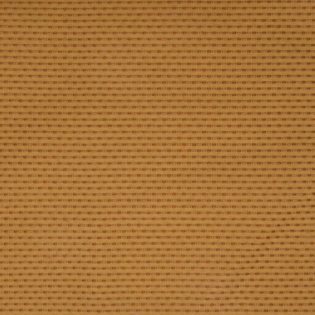 Copper Gold Stripe Woven Upholstery Fabric