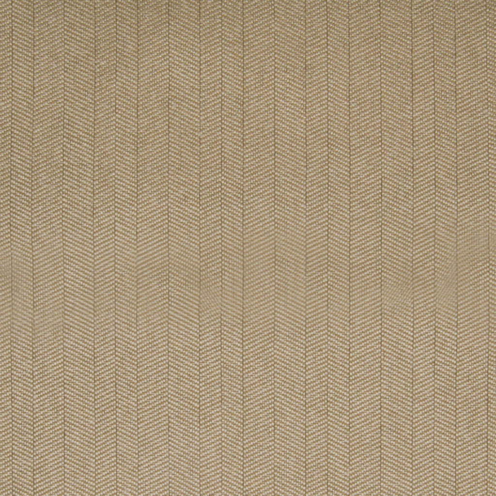 Camel Neutral Herringbone Solid Stripe Woven Texture Upholstery Fabric