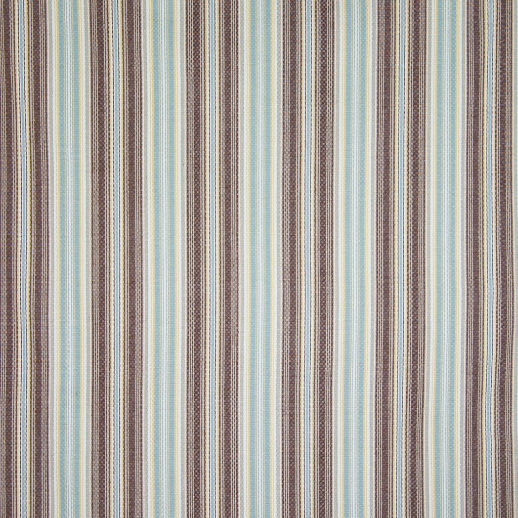 Pool Brown Stripe Woven Upholstery Fabric