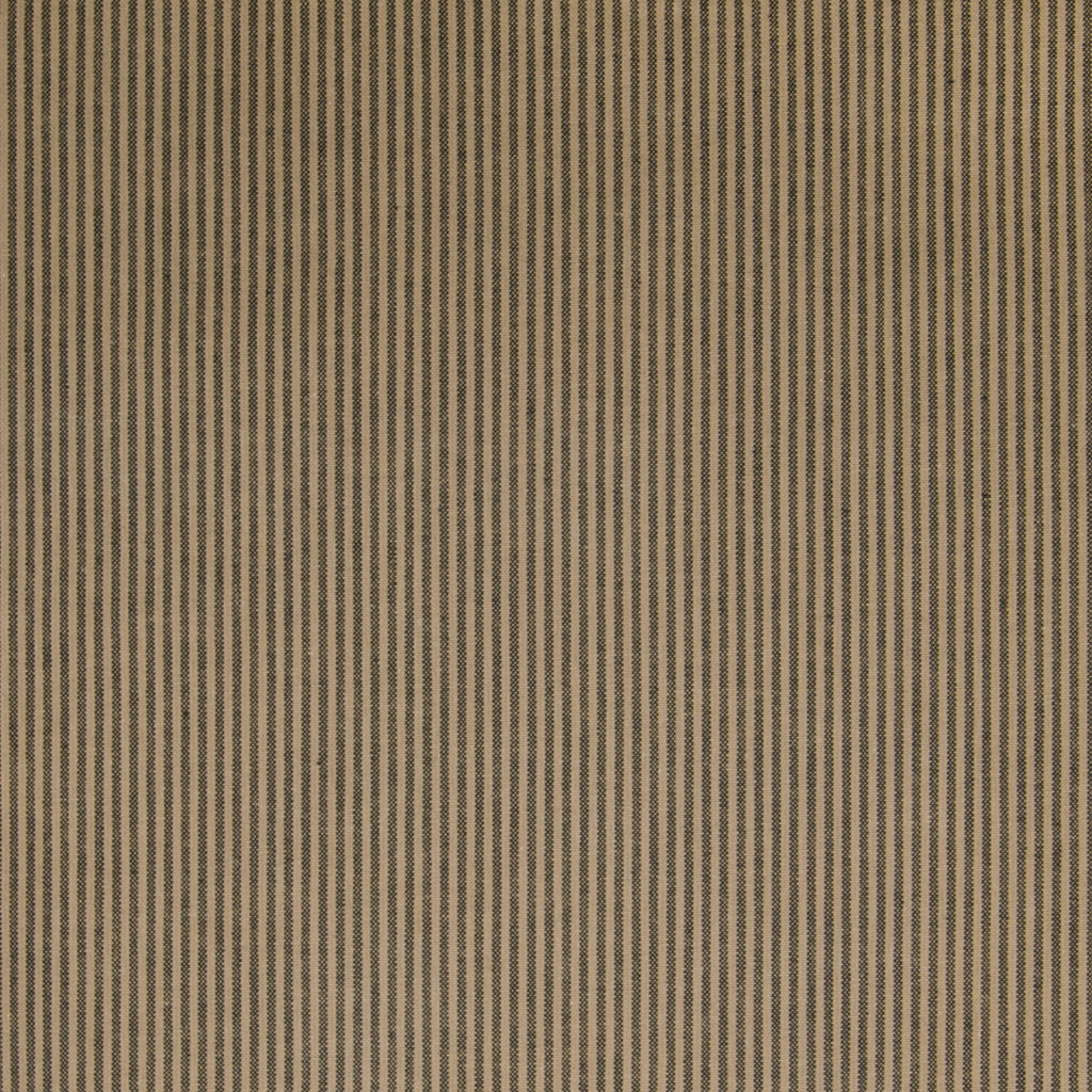 Sterling Brown Stripe Woven Upholstery Fabric