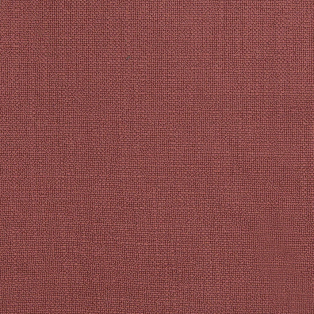Russet Red Solid Woven Faux Linen Upholstery Fabric