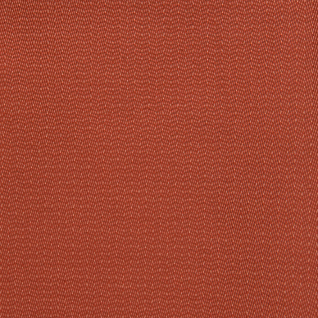 Harvest Red Chevron Solid Woven Upholstery Fabric