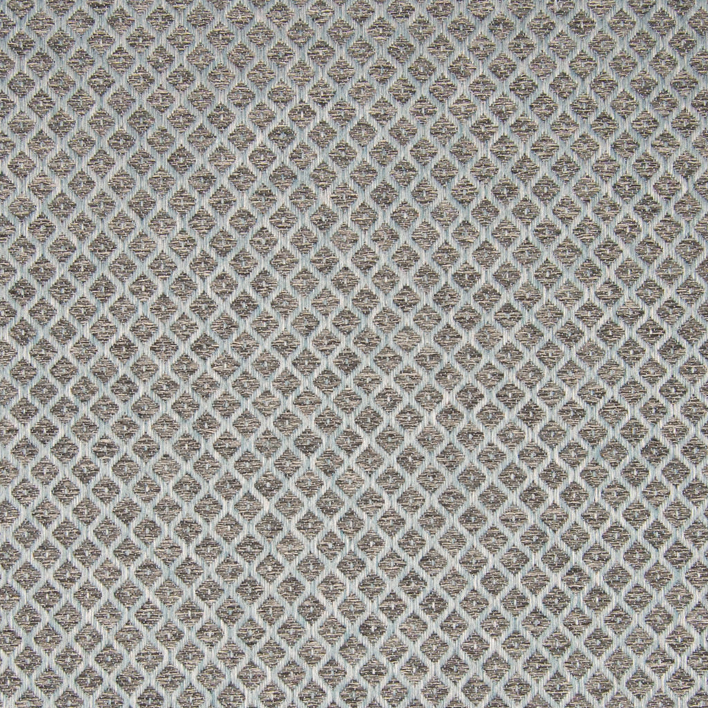 Mist Gray Diamond Woven Upholstery Fabric