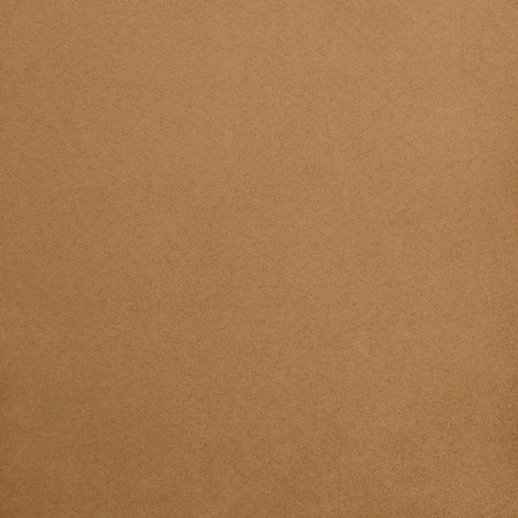 Cashmere Brown Solid Suede Upholstery Fabric