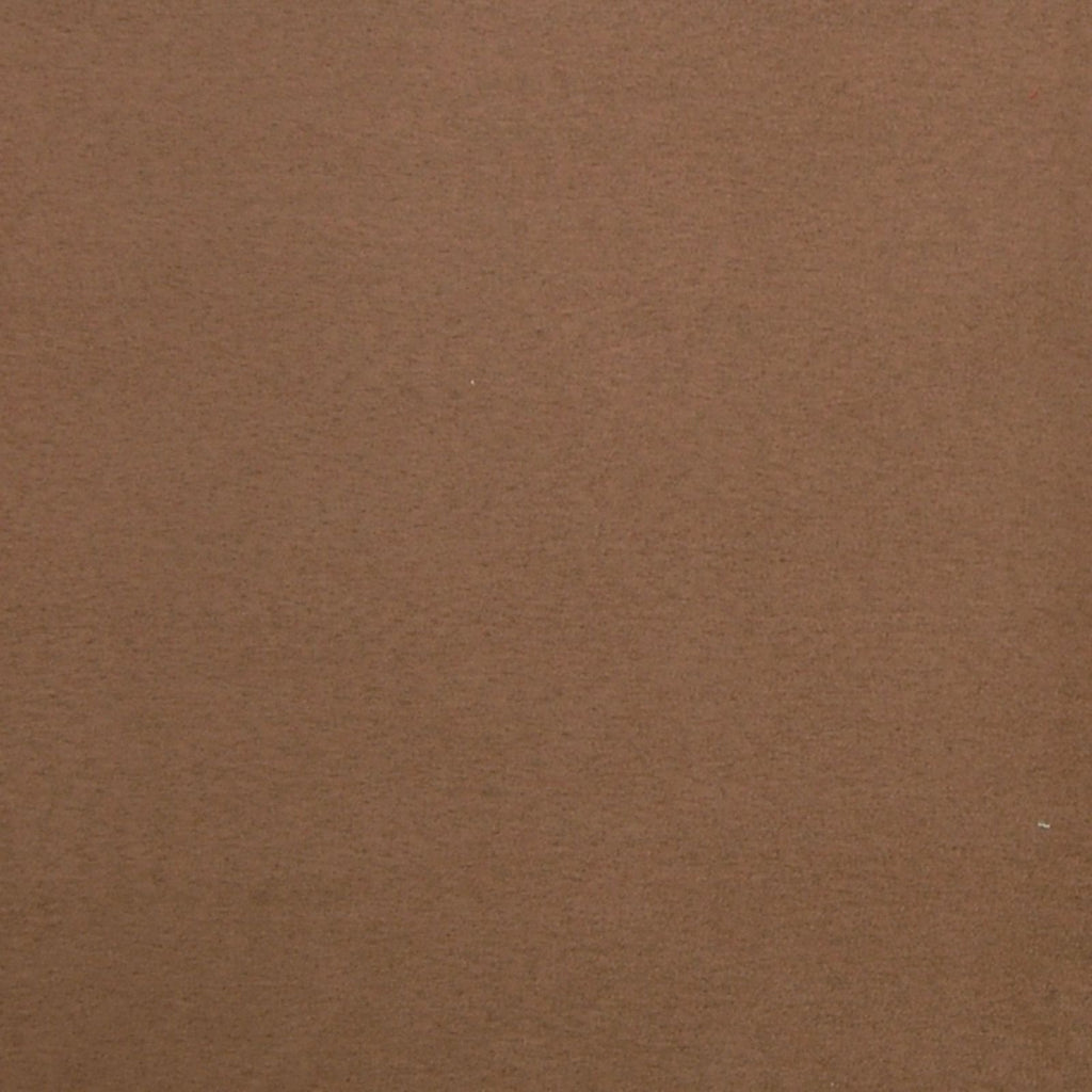 Cappuccino Brown Solid Suede Upholstery Fabric
