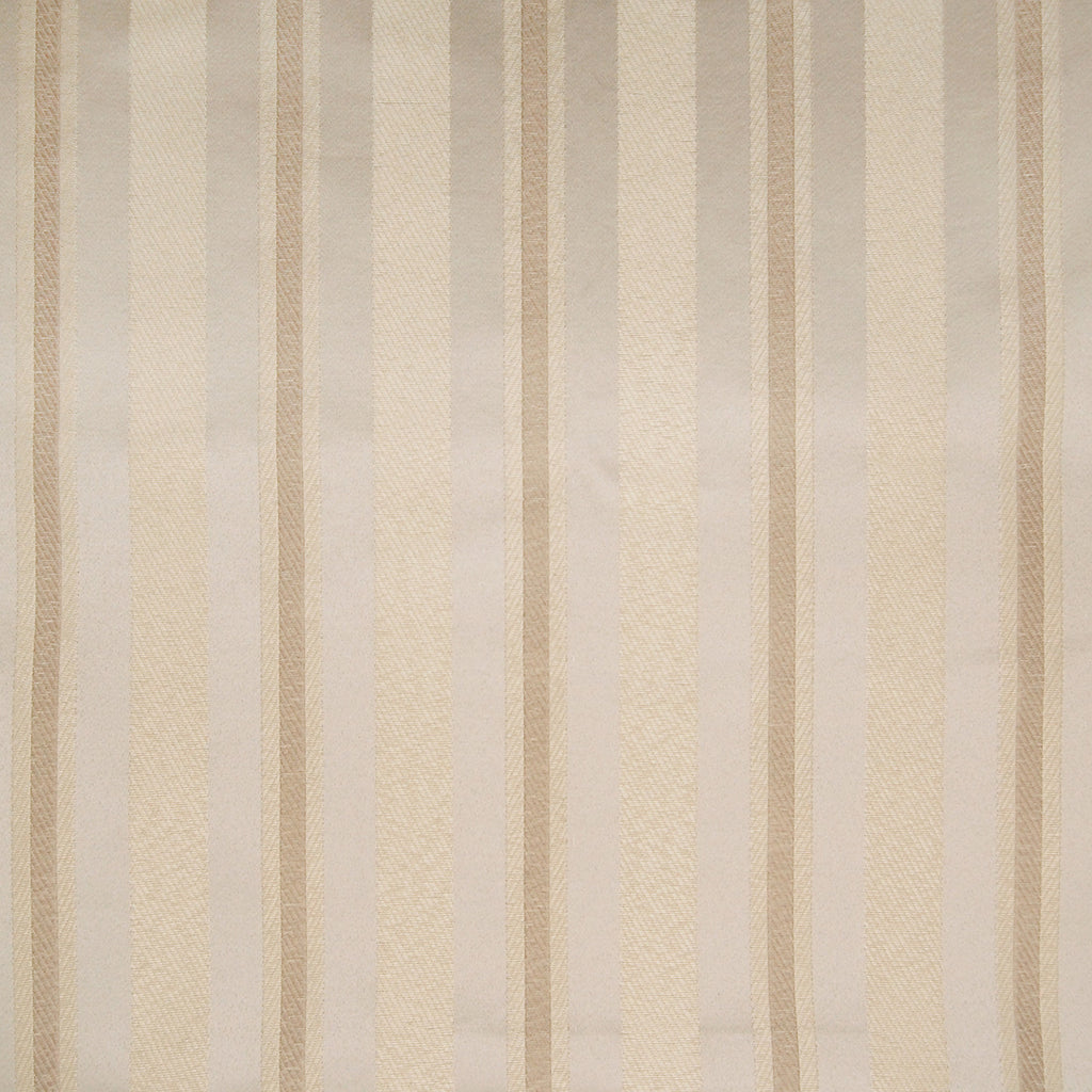 Natural Neutral Stripe Woven Jacquard Upholstery Fabric