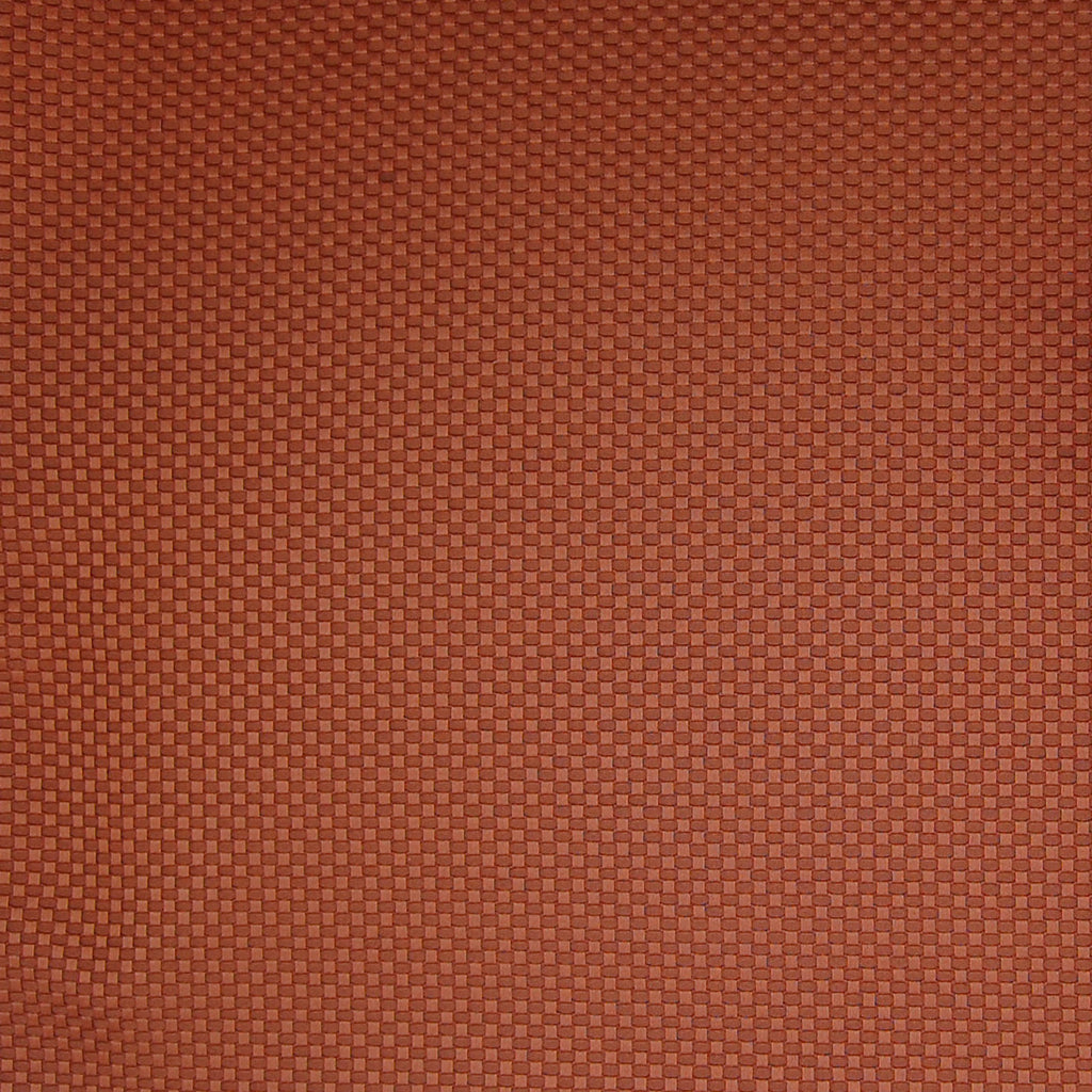 Henna Red Solid Cotton Texture Upholstery Fabric