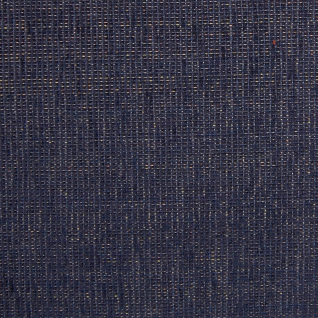 Indigo Blue Solid Chenille Made in USA Upholstery Fabric