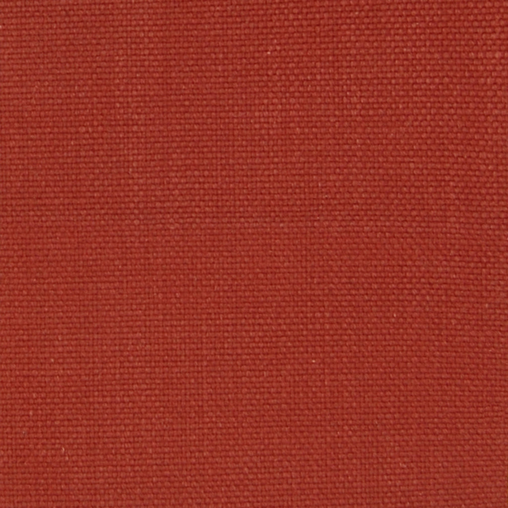 Crimson Red Solid Cotton Texture Upholstery Fabric