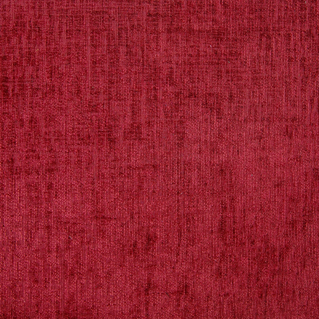Ruby Red Solid Texture Upholstery Fabric