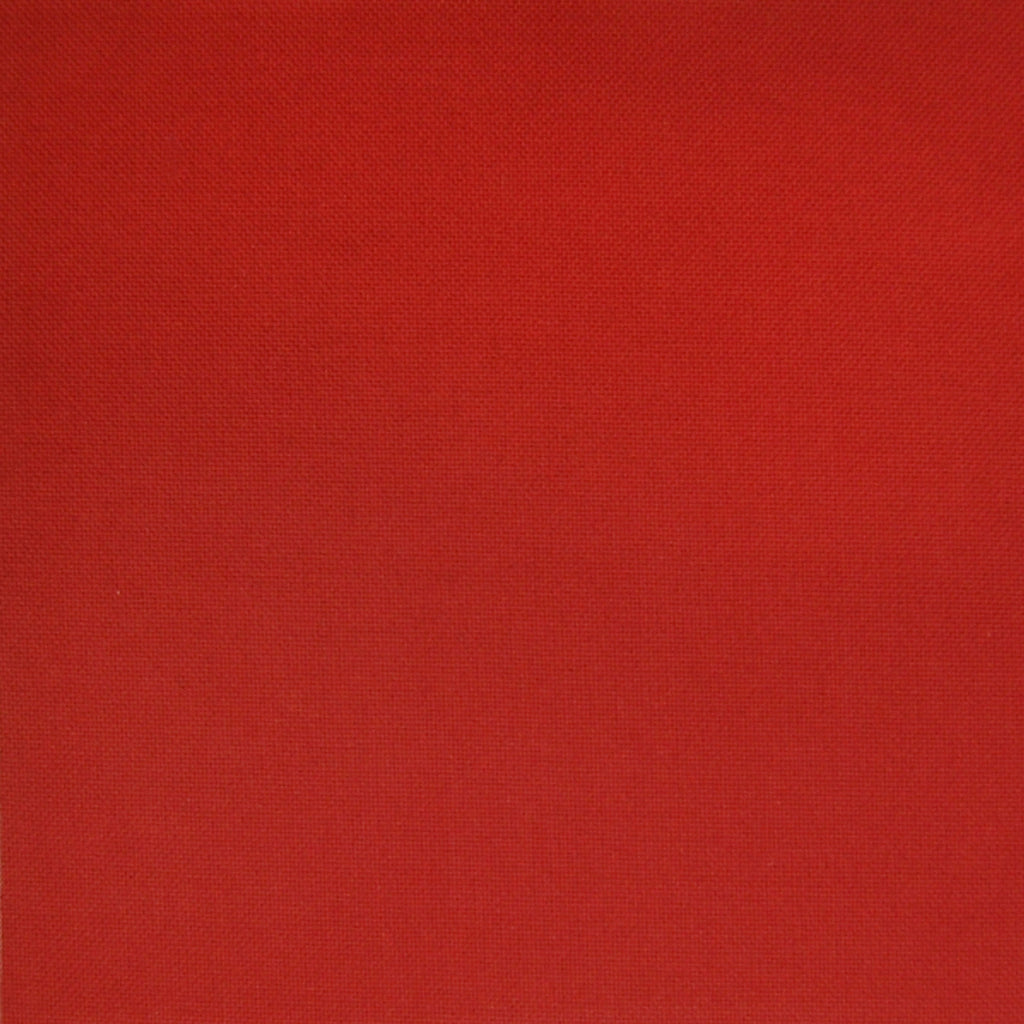 Cranberry Red Solid Made in USA Texture Cotton Upholstery Fabric