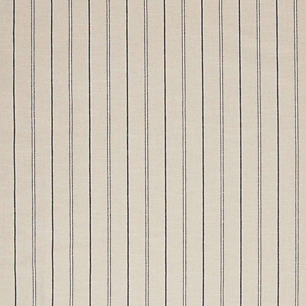 Raven Neutral Stripe Cotton Linen Woven Upholstery Fabric