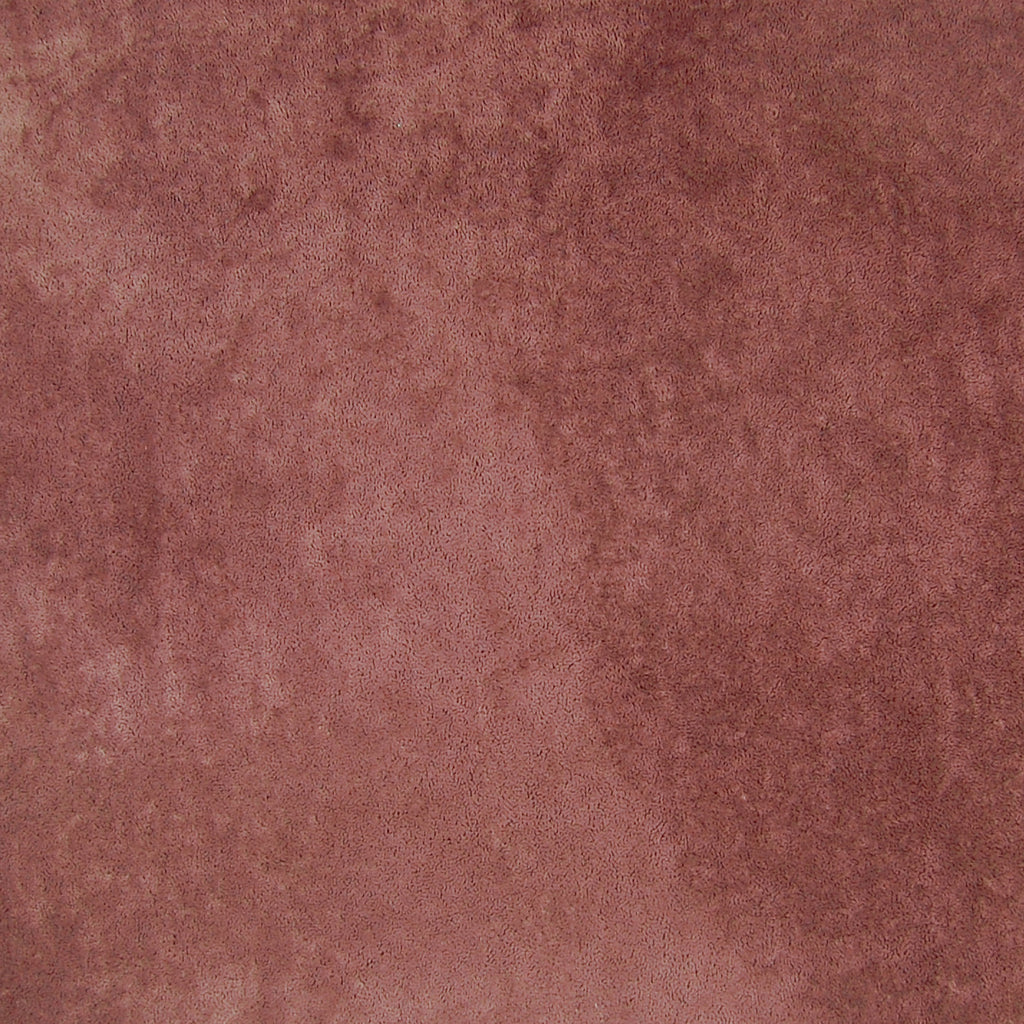 Brandy Purple Red Solid Suede Made in USA Cotton Upholstery Fabric