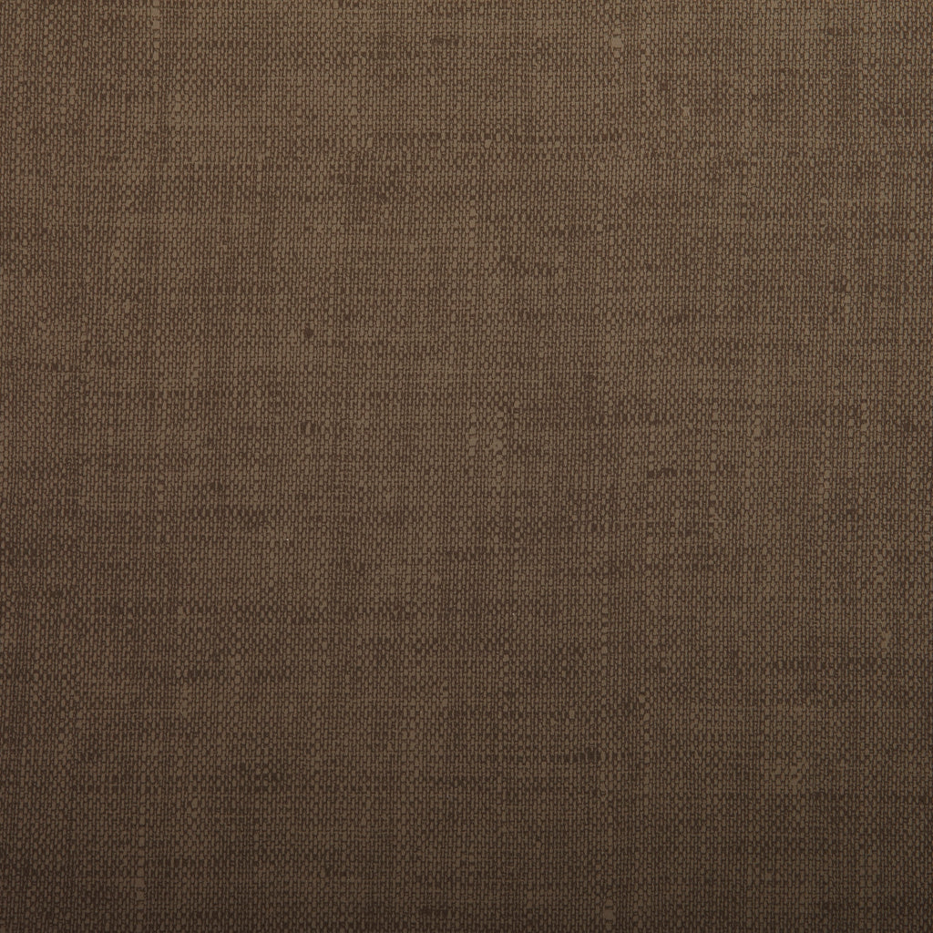 Coffee Brown Leather Grain Plain Solid Polyurethane Vinyl Upholstery Fabric