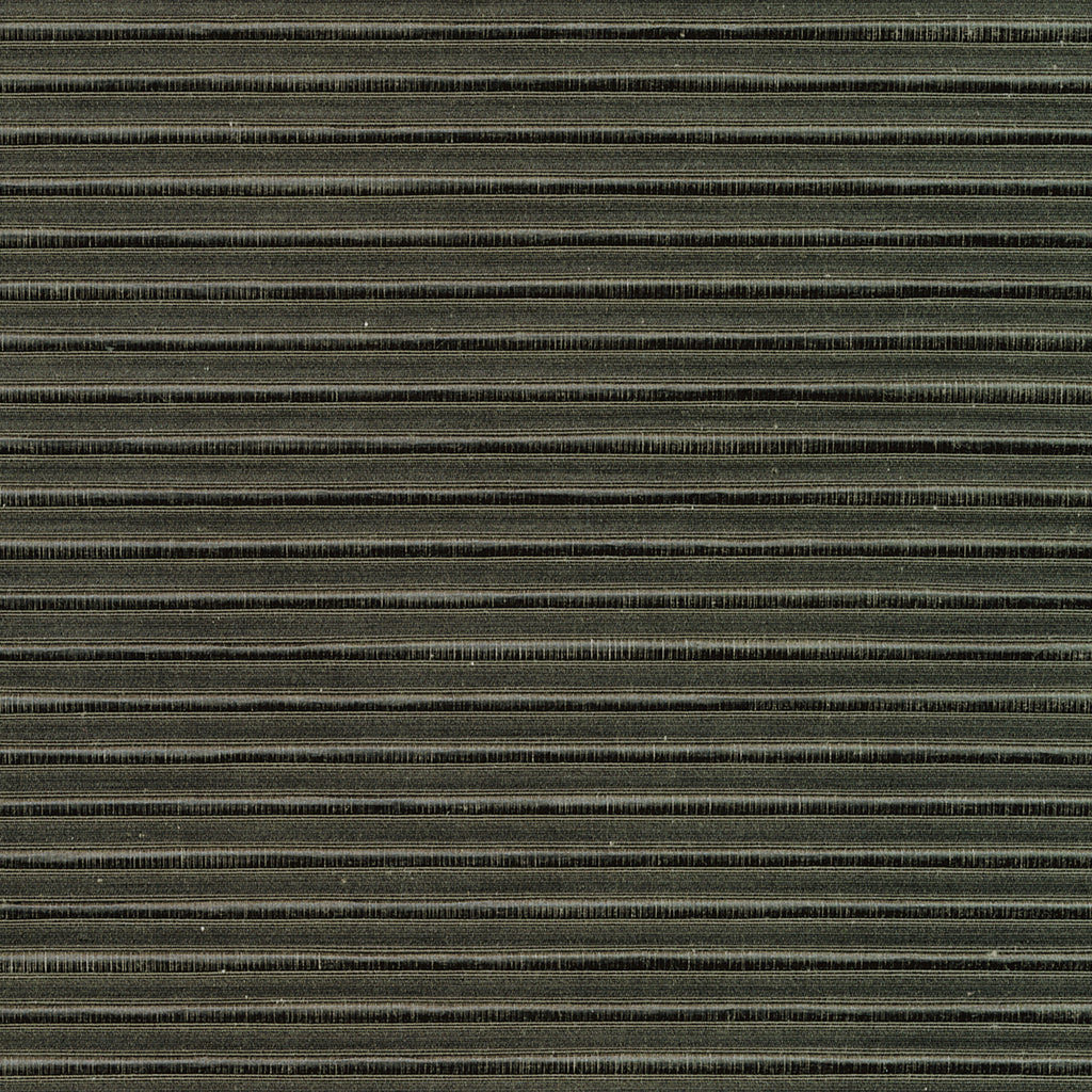 Annapolis Battleship Gray Black Ebony Solid Woven Flat Upholstery Fabric