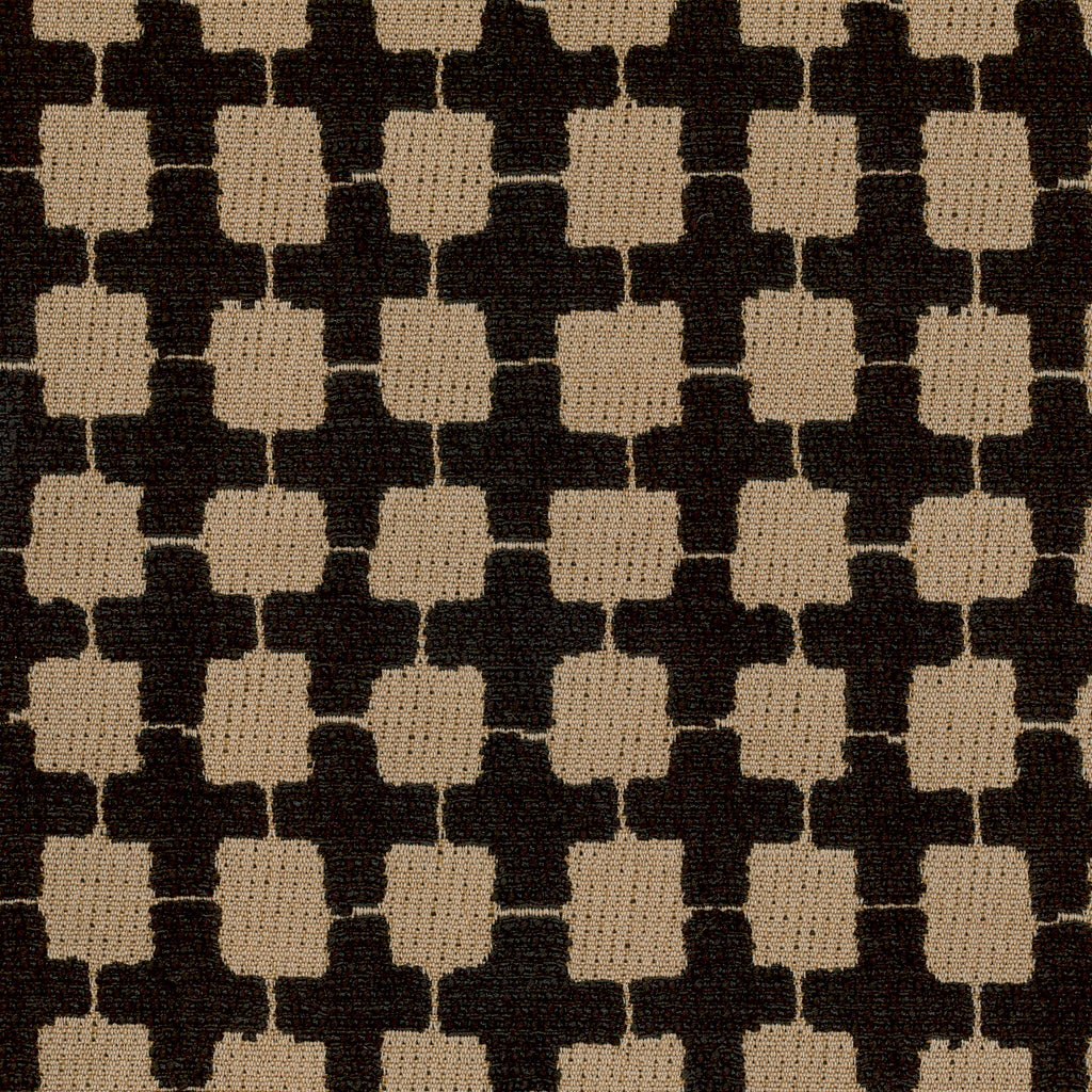 Argyle Black Gray Gray Charcoal Geometric Woven Textured Upholstery Fabric