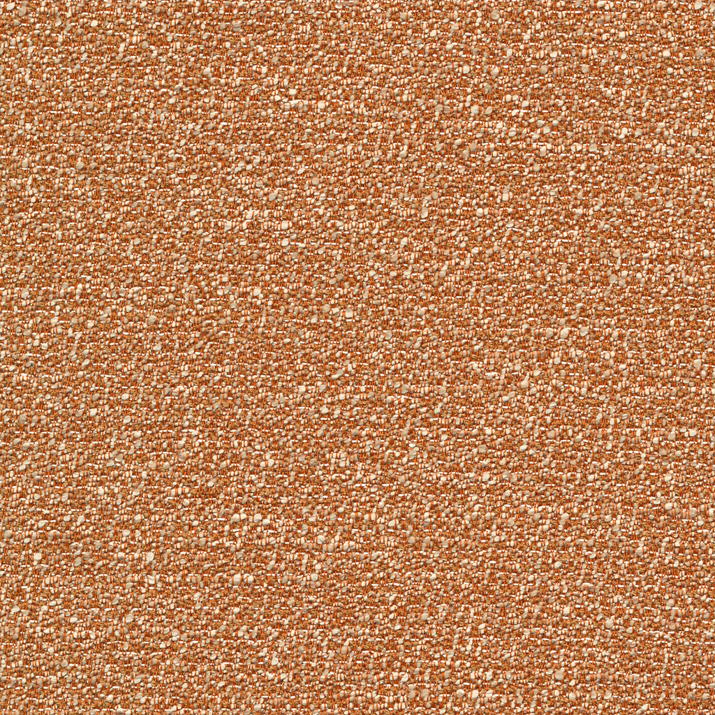 Avenue Rosso Orange Brown Tan Beige Solid Woven Textured Upholstery Fabric