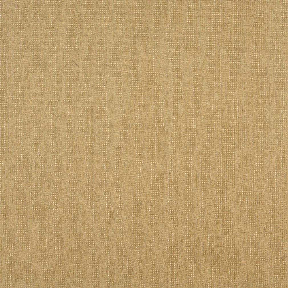 Beige Tan Taupe Gold Yellow Plain Solid Chenille Upholstery Fabric
