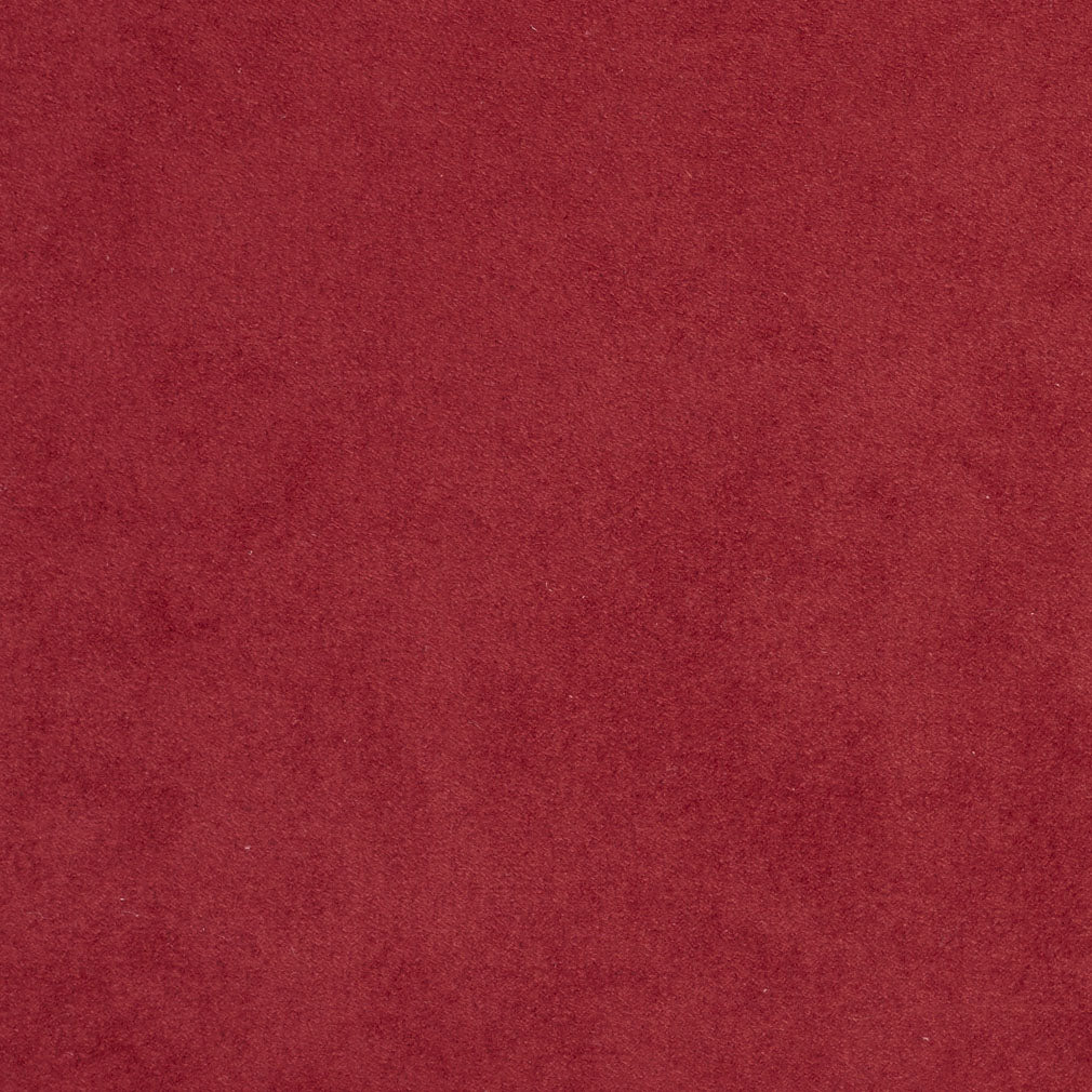 Burgundy Red Rust Plain Solid Microfiber Microsuede Upholstery Fabric