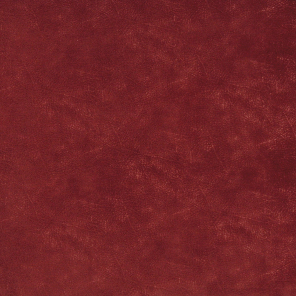 Burgundy Red Rust Animal Skins Plain Solid Microfiber Microsu Upholstery Fabric