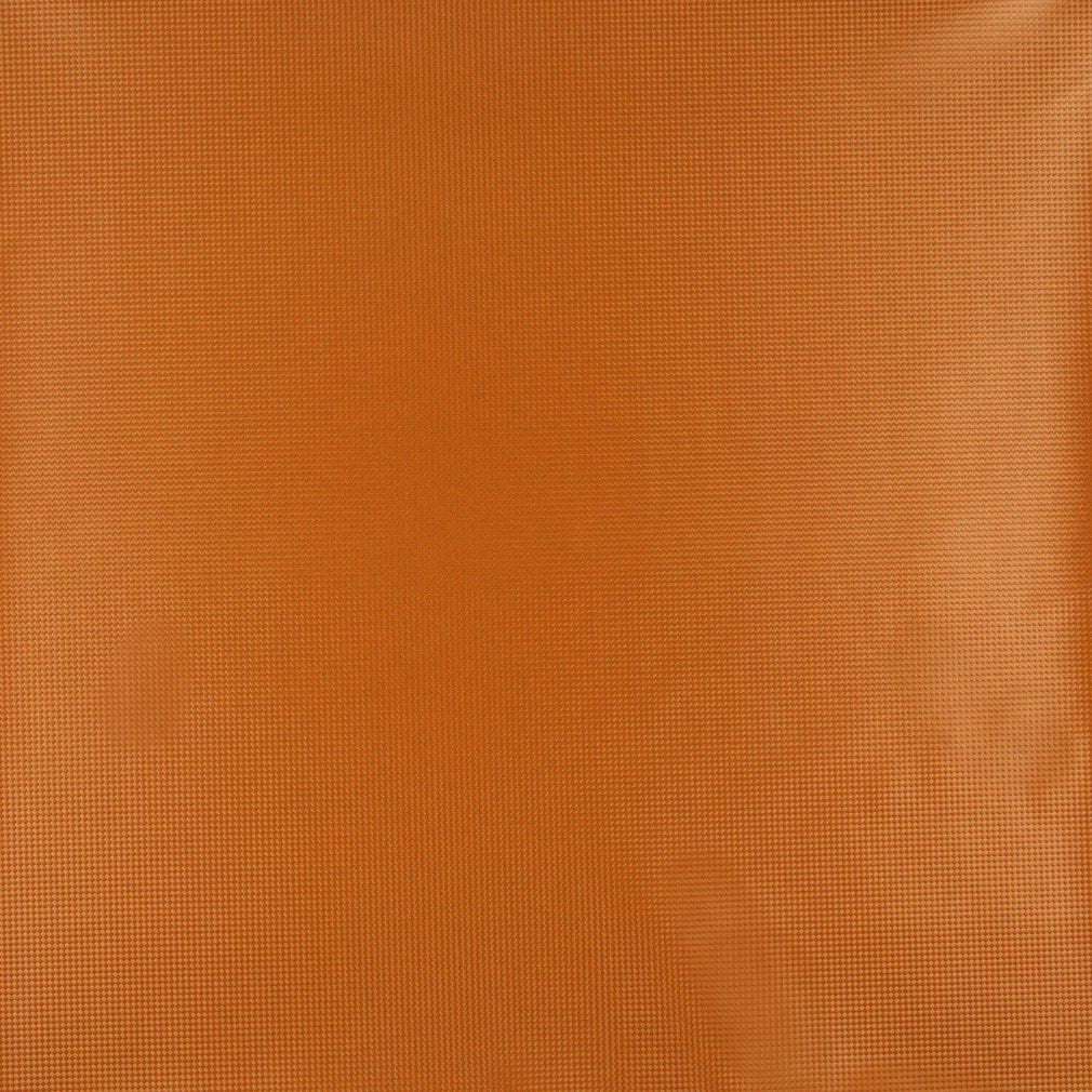 Coral Orange Persimmon Contemporary Decorative Metallic Plain Upholstery Fabric