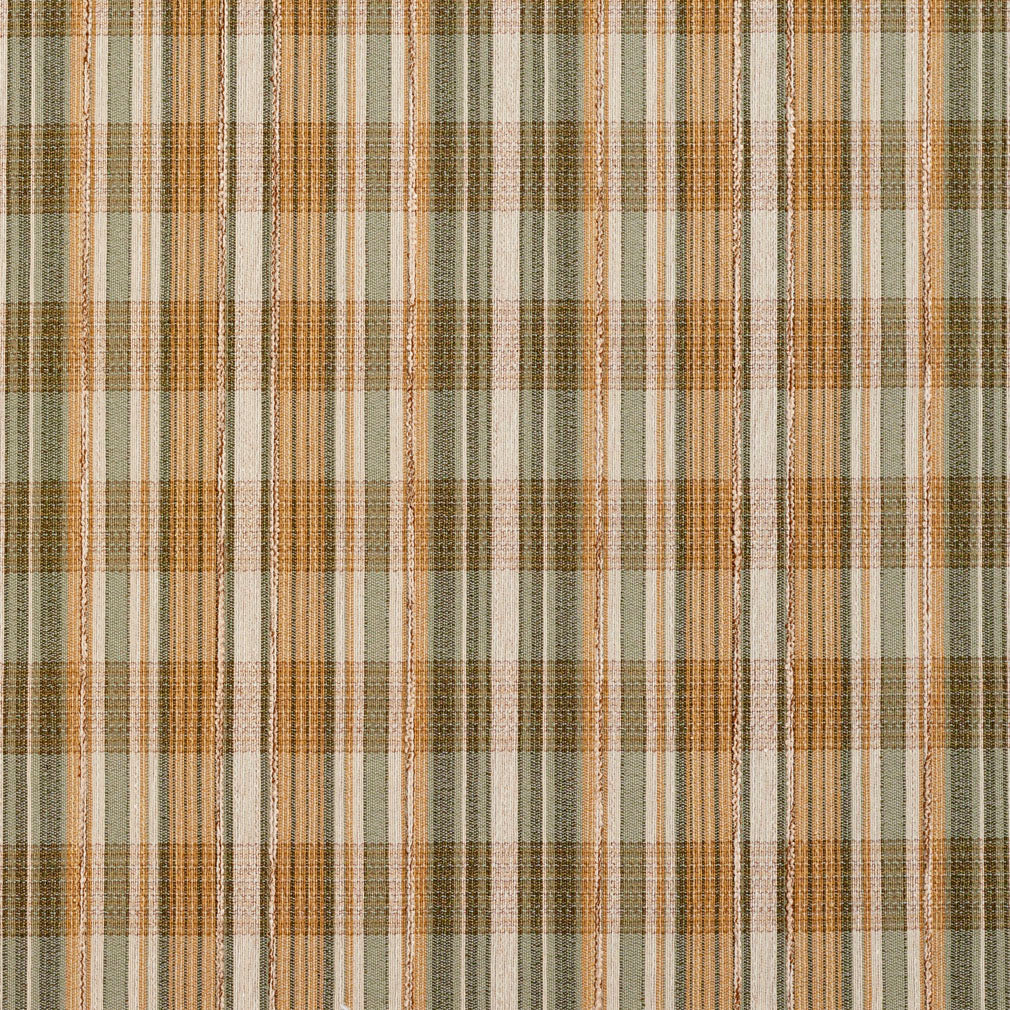 Gold Yellow Light Geen White Plaid Gingham Linen Silk Looks T Upholstery Fabric