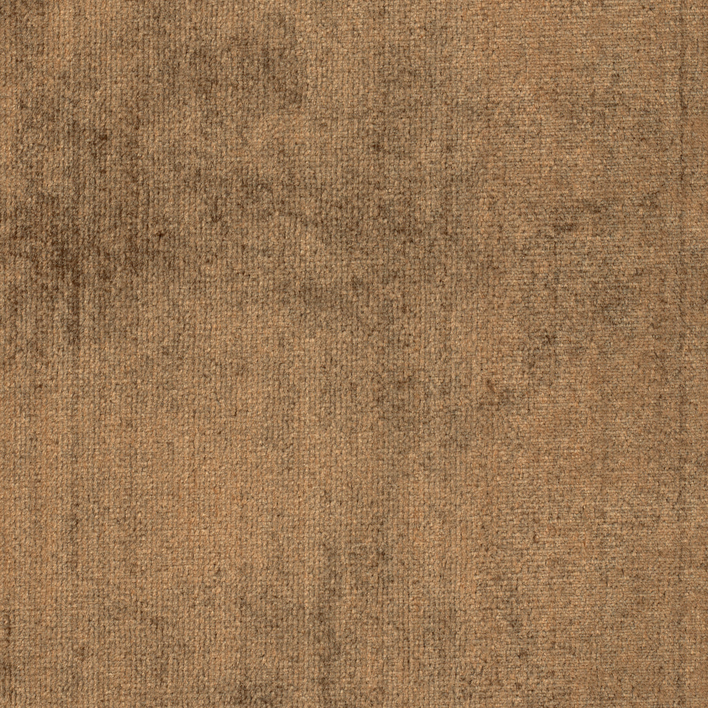 B Flirty Chocolat Brown Solid Woven Pile Upholstery Fabric