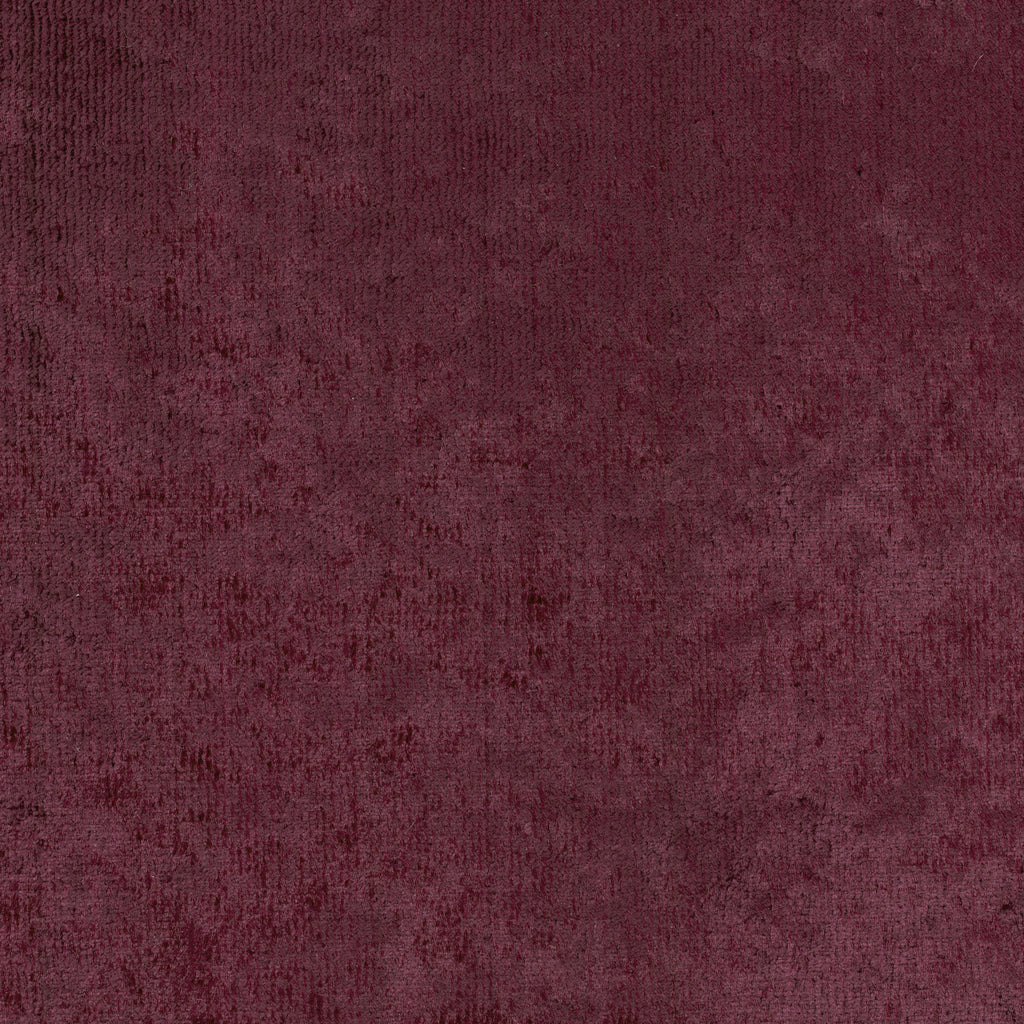 B Flirty Fraise Red Burgundy Solid Woven Pile Upholstery Fabric