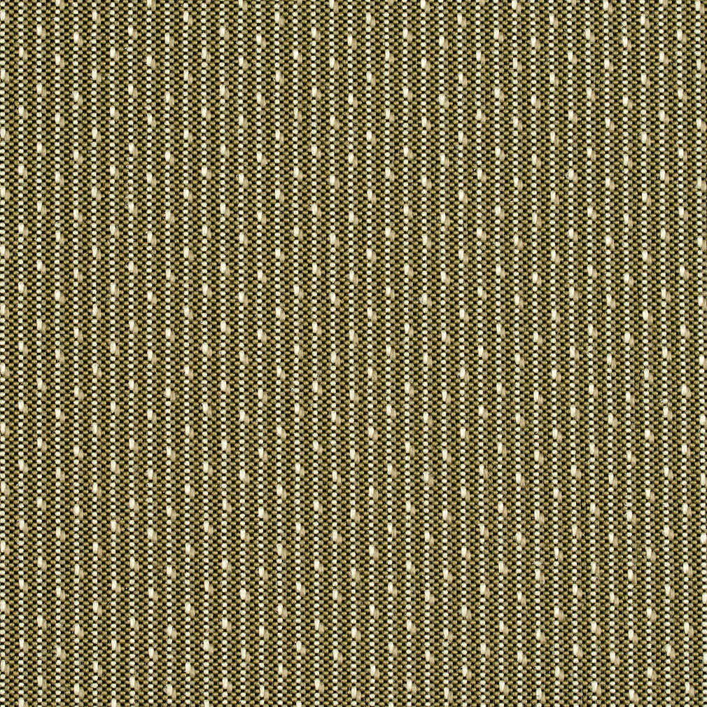 Fern Green and Light Green Small Stripe Damask Upholstery Fabric