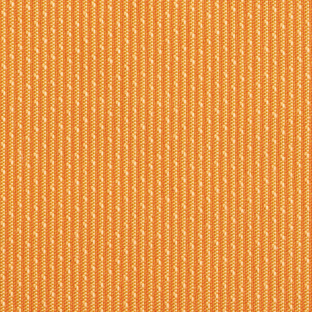 Mandarin and Coral Small Stripe Damask Upholstery Fabric
