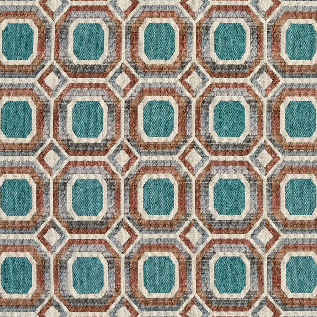 Turquoise   Upholstery Fabric
