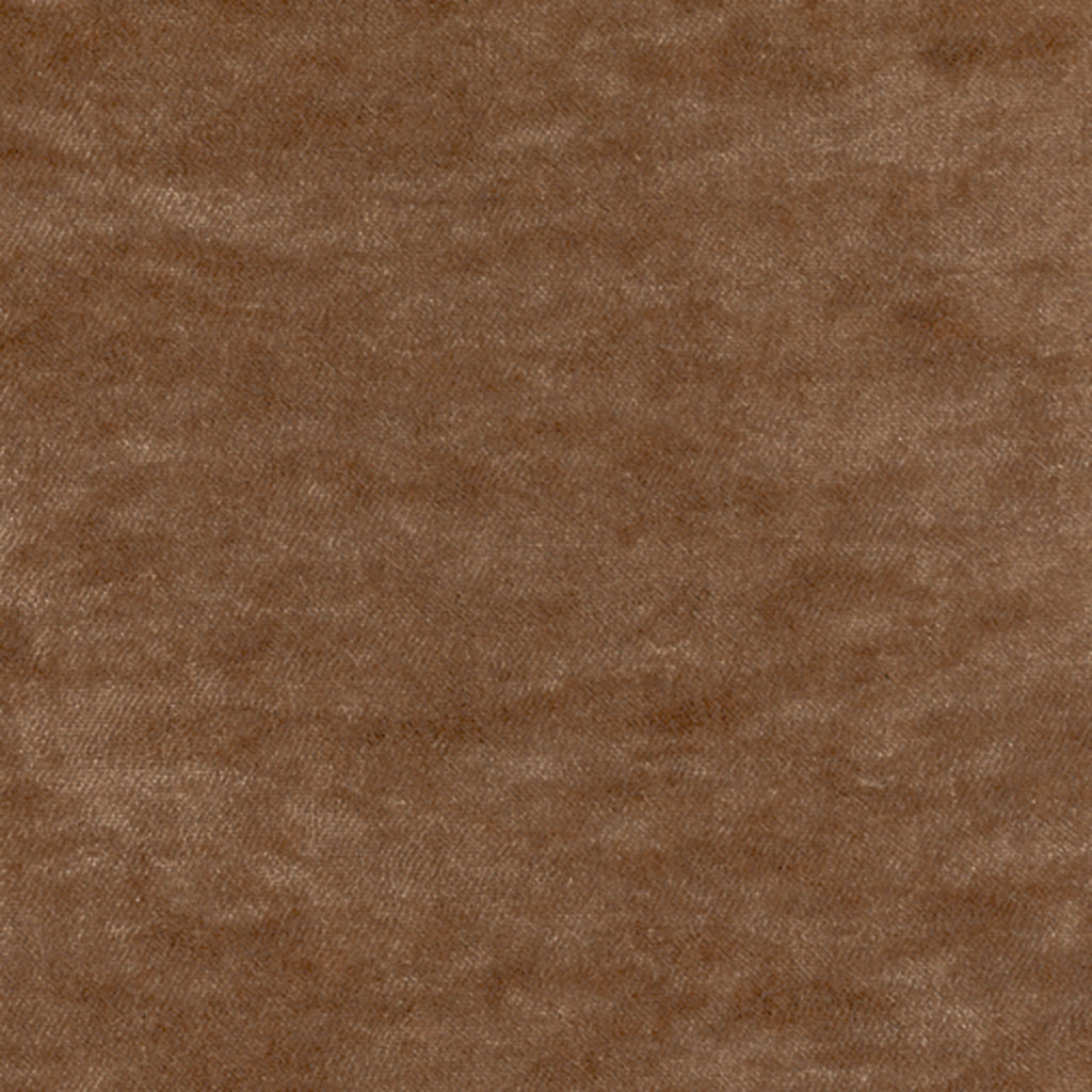 Cavallino Cashmere Brown Solid Woven Pile Upholstery Fabric