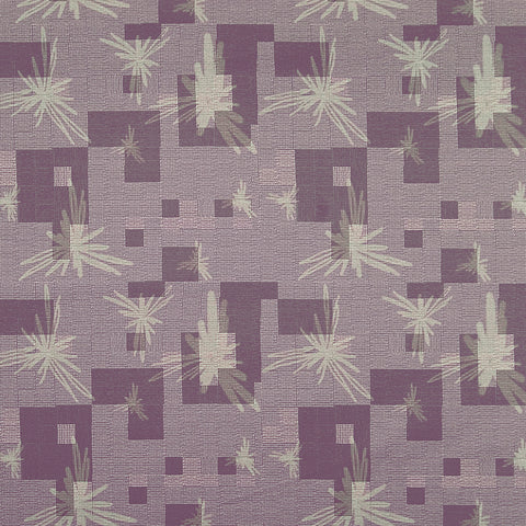 Daybreak Ravensara Purple Yellow Mauve true Purple Leaves Flor Upholstery Fabric
