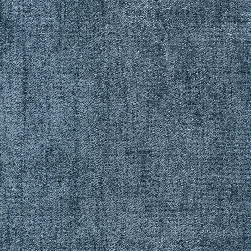 Dorian Midnight Express Blue Royal Navy Solid Woven Textured Upholstery Fabric
