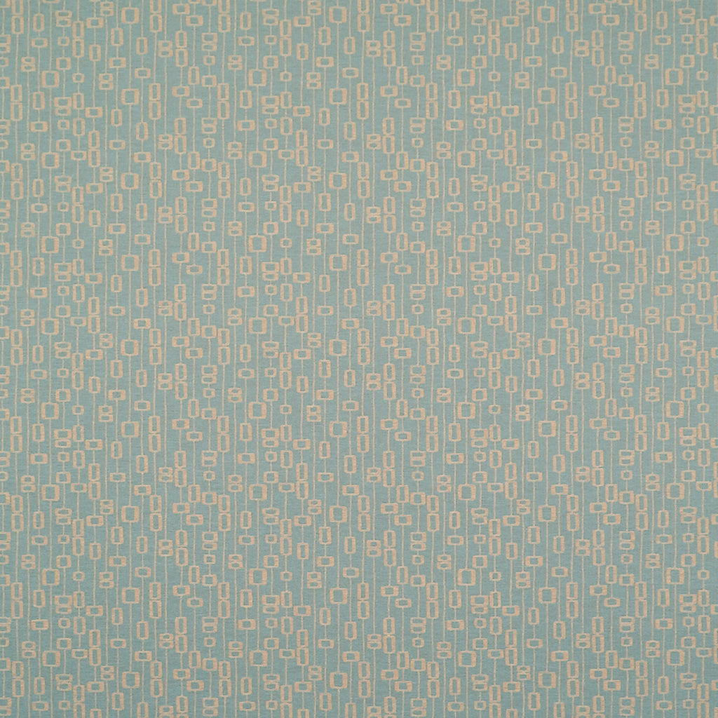 Easton Robins Egg Blue Aqua Sky Abstract Woven Flat Upholstery Fabric
