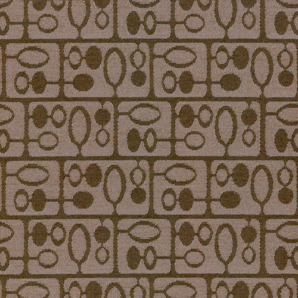 Forrest Espresso Brown Brown Chocolate Geometric Woven Flat Upholstery Fabric