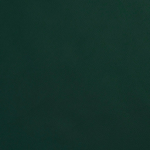 Alpine Green Leather Grain Plain Solid Vinyl  Upholstery Fabric
