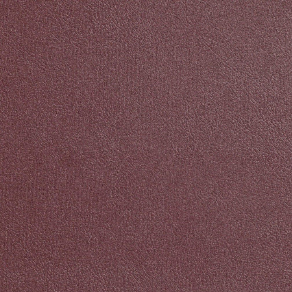 Mauve Pink Leather Grain Plain Solid Vinyl  Upholstery Fabric